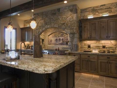 Western Idaho Cabinets Knotty Alder Cabinets W Black Glaze