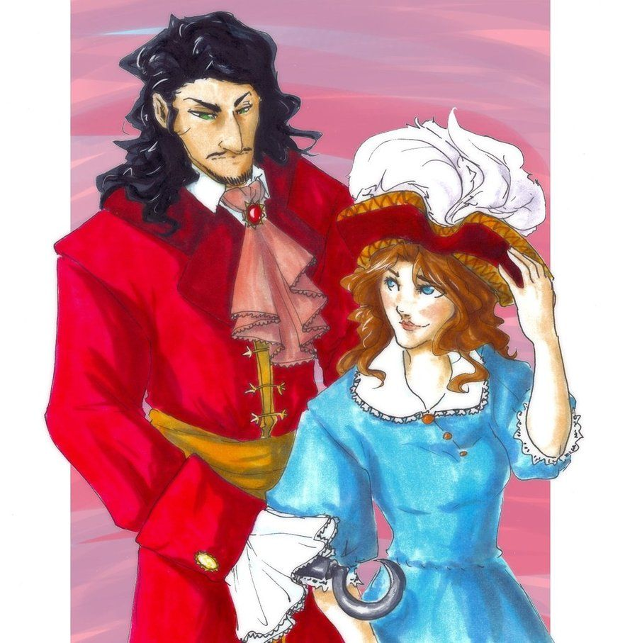 Hook And Wendy By Ankalime On Deviantart Wendy Lost