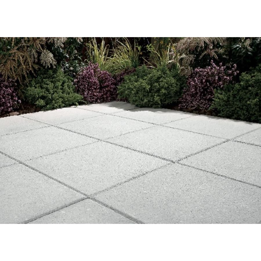Square Gray Patio Stone Common 20 In X Actual 19 6