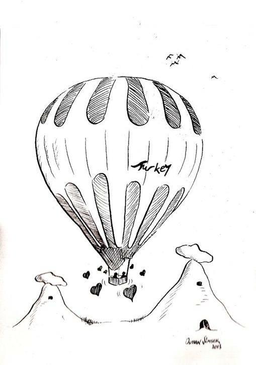 Peri Bacalari Karikatur Sadece Resim Aynen Resimdeki Gibi