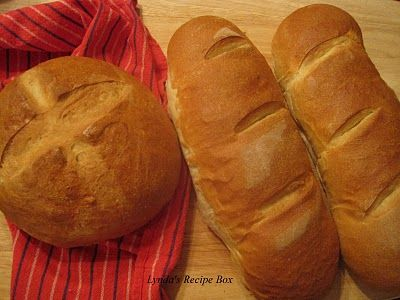 Making Crusty French Bread without the use of a mixer ...