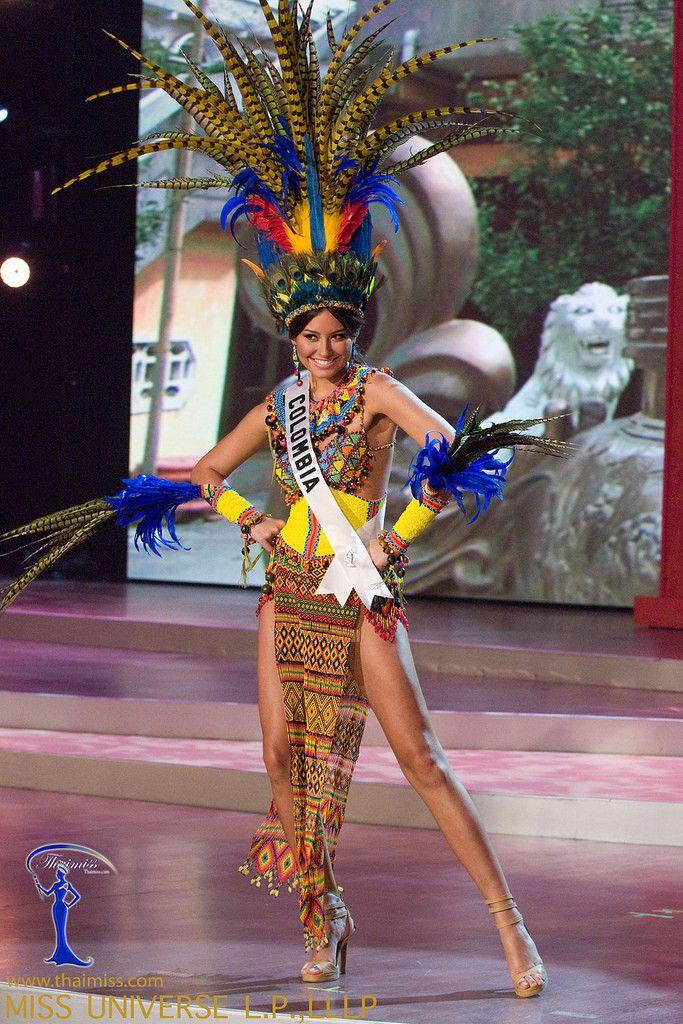 Traje Típico De Miss Colombia En 2019 Vestidos Colombia