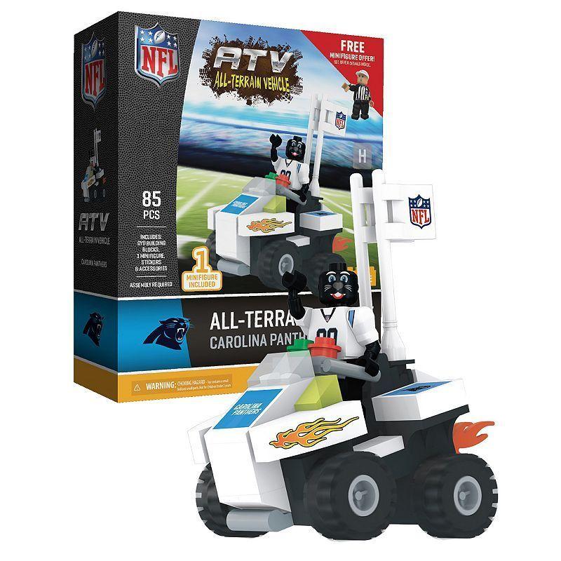 OYO Sports Carolina Panthers Buildable ATV 4Wheeler with