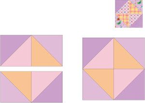 Quilt Pattern How To Make An Easy Card Trick Quilt Quilt Patterns Baby Quilt Patterns Easy Simple Cards