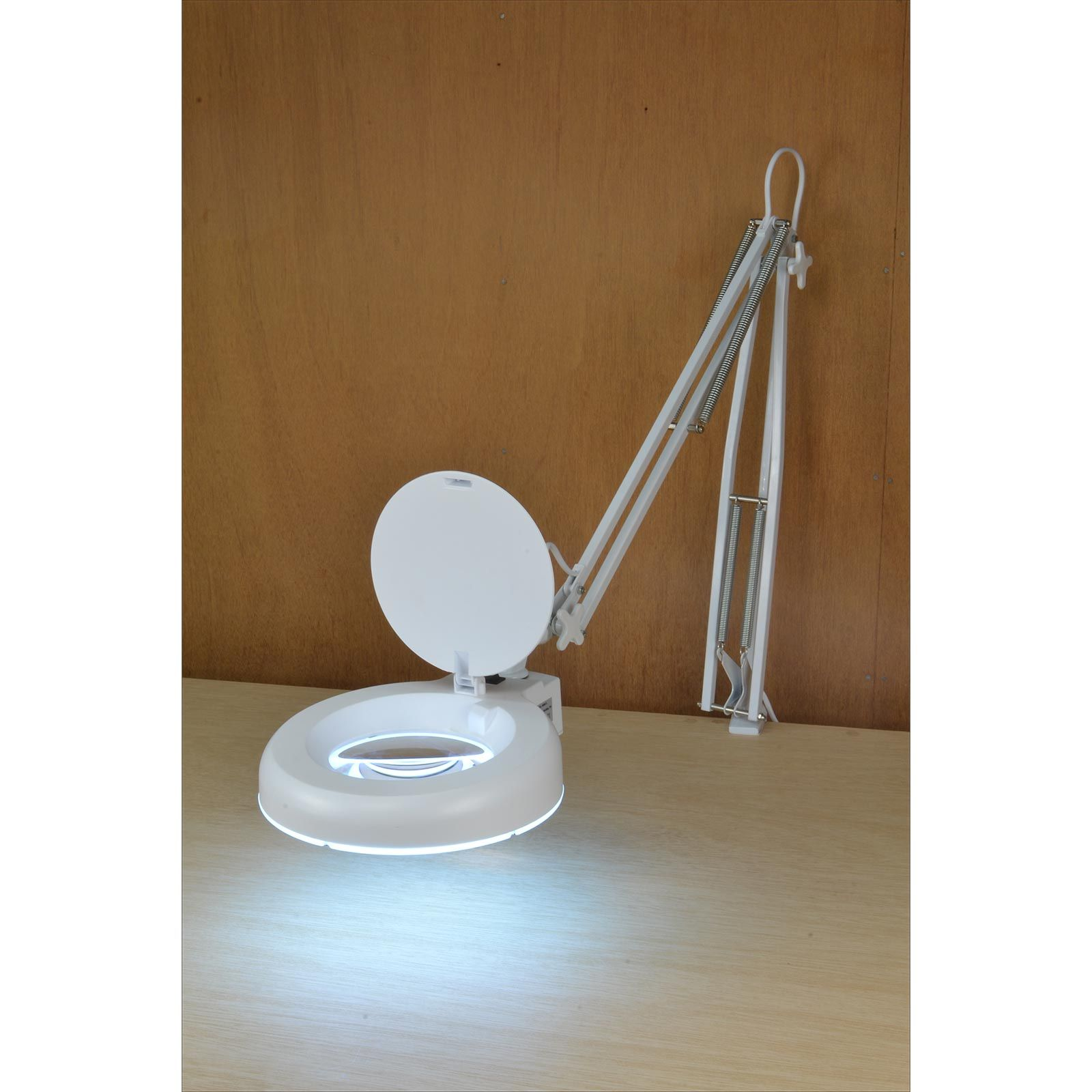 Articulated Led Lamp With Magnifier Magnifier Lamp Lamp Magnifier