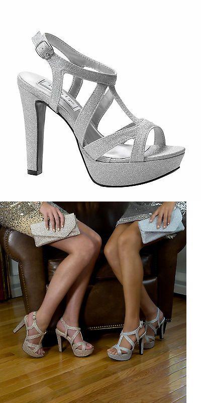 Current Nude Heels - Brush Heels - Strappy Chunky Heels