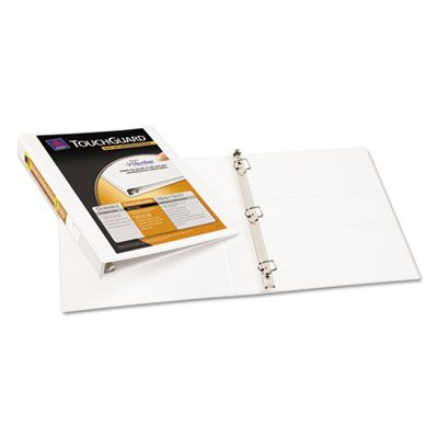 Avery Touchguard Protection Slant D Ring Heavy Duty View Binder 17141 Officecrave Com Antimicrobial Binder D Ring