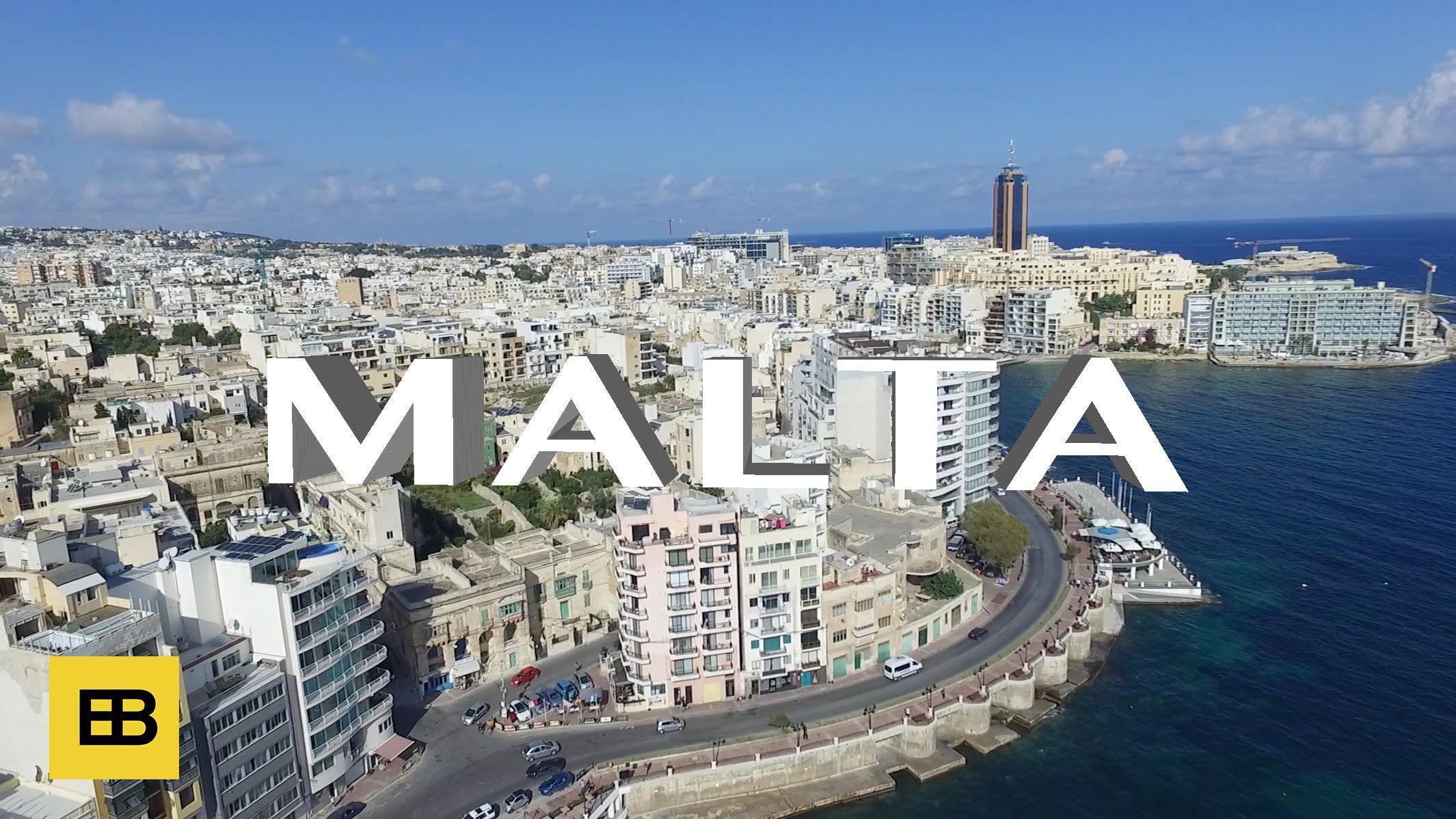 Amazing Places Of Malta Filmed From The Air Malta Malta Island Skyline