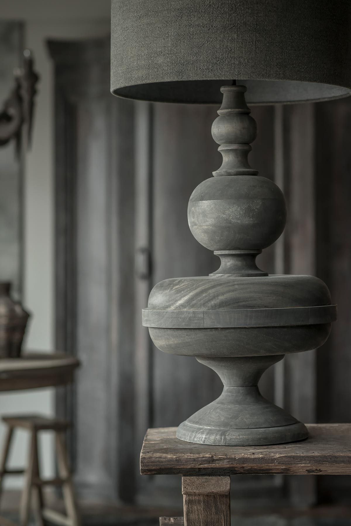 Tafellamp bolvoet hoffz hollandse for Landelijk wonen verlichting