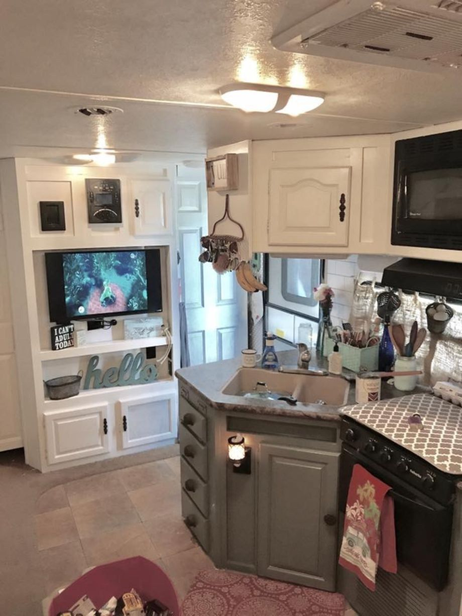 42 RV Living Full Time Cost Remodel #rvliving