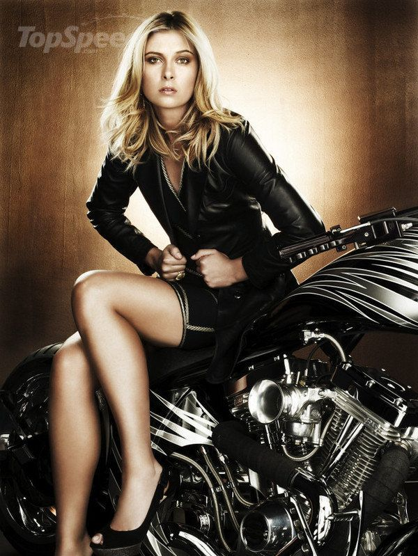 does maria sharapova have a passion for choppers -