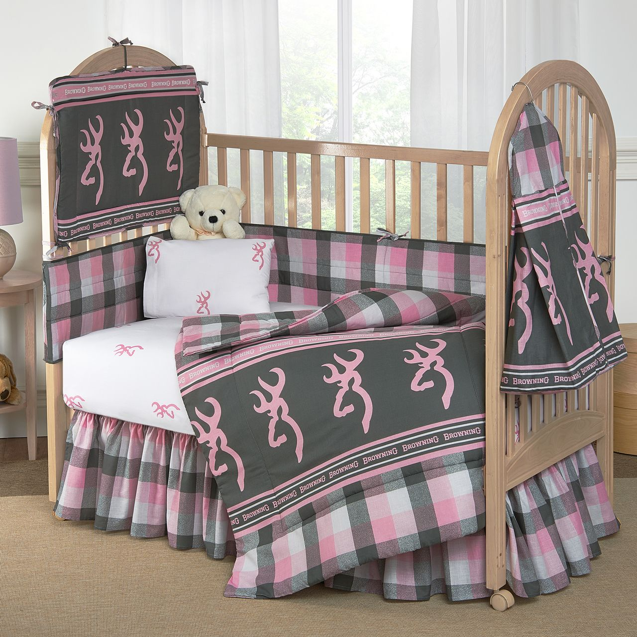 Browning Buckmark Plaid Crib