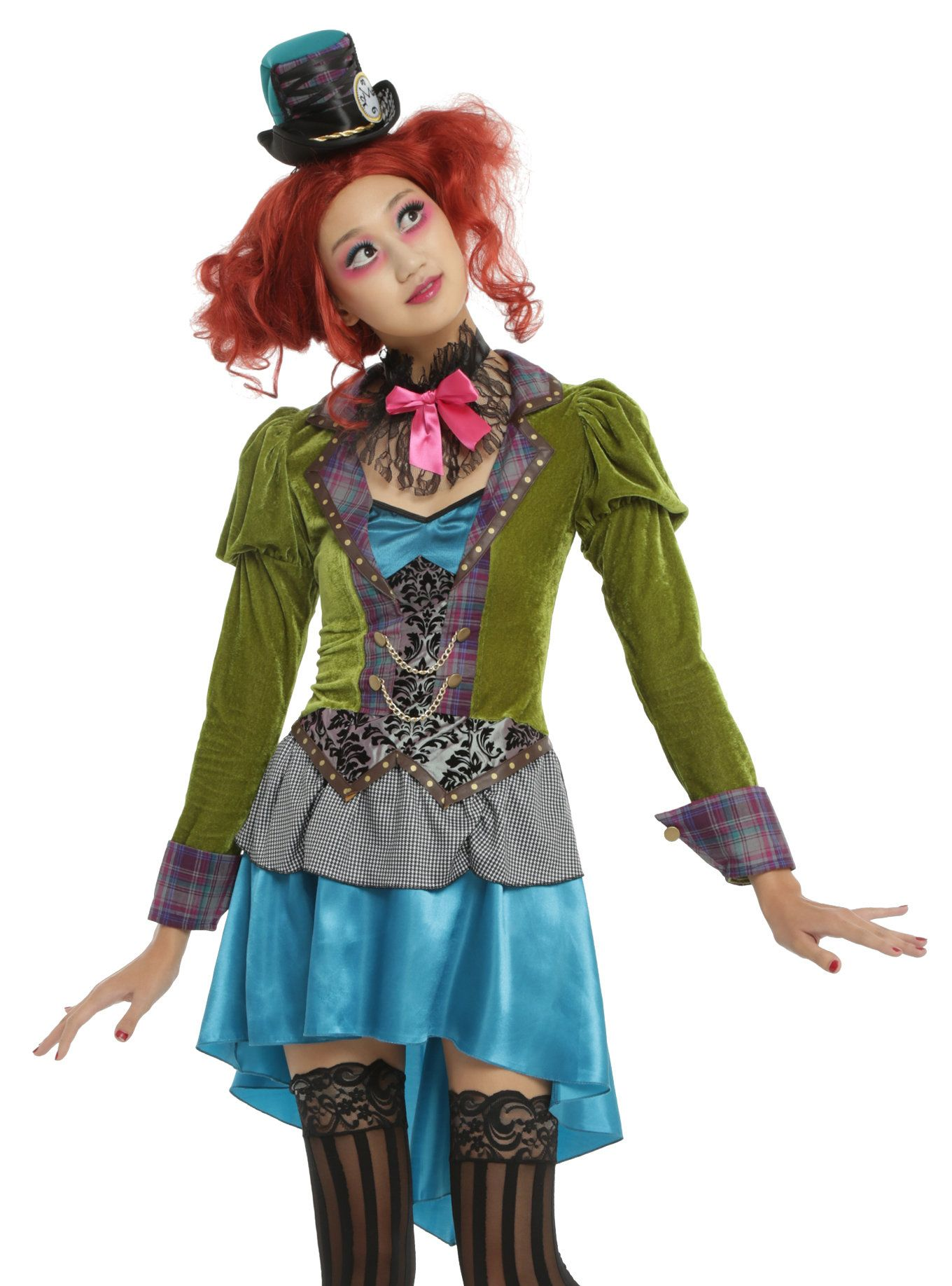 Mad Hatter Costume in 2020 Mad hatter costume female