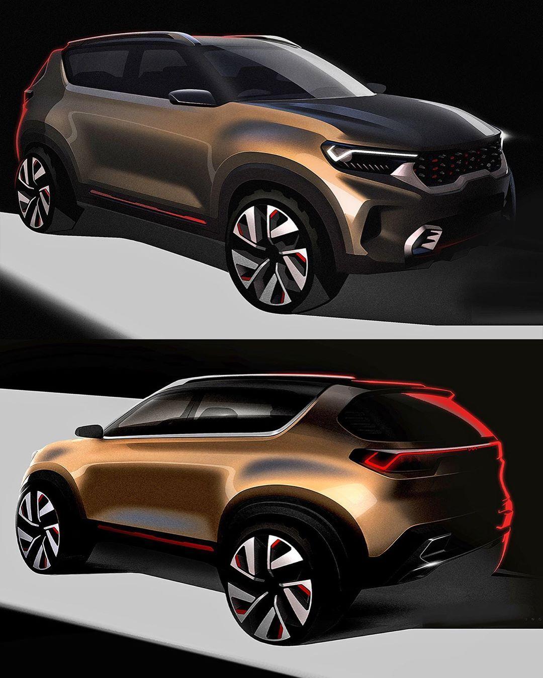 Car Design World On Instagram 2020 Kia Compact Suv Concept
