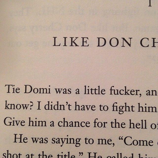 Opening words to Bob Probert's autobiography