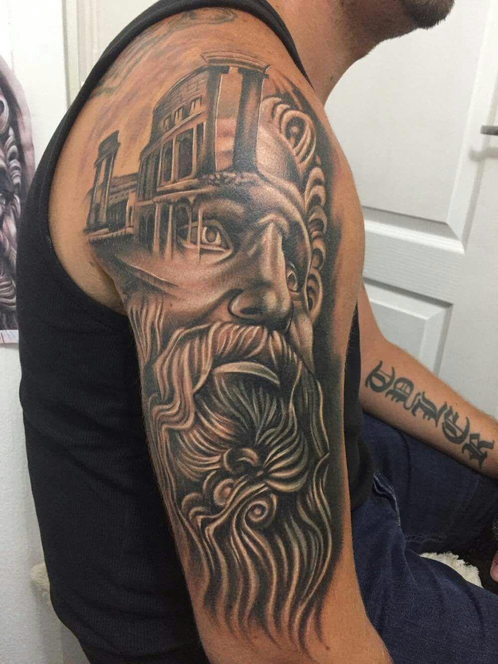 Zeus Tattoo Tattoo Mythology Tattoos Tattoos Zeus Tattoo
