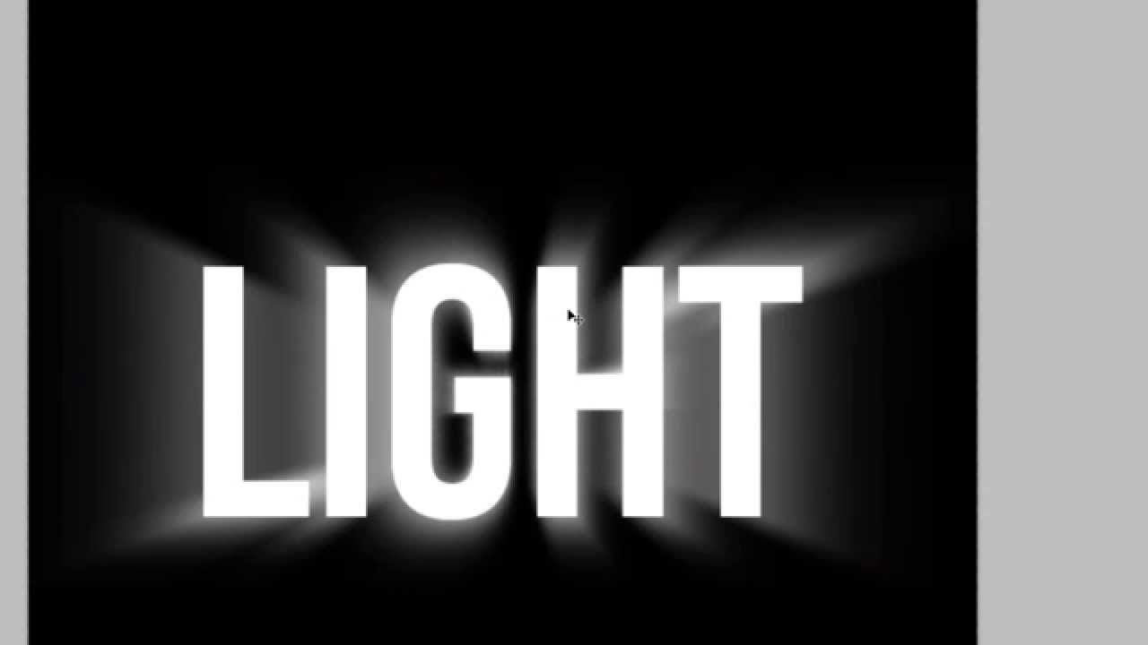 Light tutorial in photoshop photoshop pinterest photoshop in this photoshop tutorial i show you how to make a cool light text effect using many filters in this tutorial i used a new method of making tutorial baditri Gallery