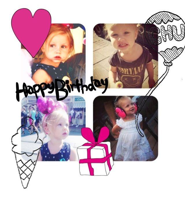 Happy birthday little Lux!!!