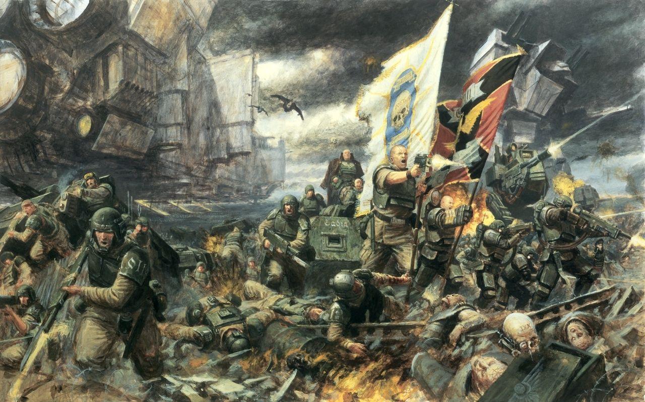 10 Most Popular Warhammer 40k Imperial Guard Wallpaper Full Hd