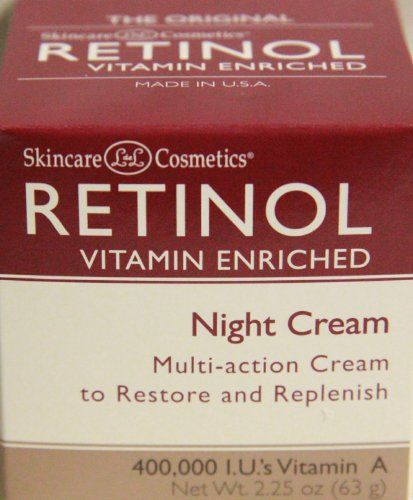 Skincare LdeL Cosmetics Retinol Vitamin Enriched Night Cream 2.25 Oz LdeL Cosmetics http://www.amazon.com/dp/B005JM8Z7E/ref=cm_sw_r_pi_dp_oUxnub177XX5J