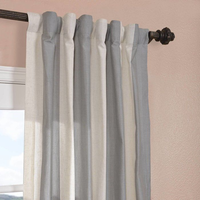Rich In Texture These Linen Blend Solid Curtains Are Gracefully Crafted Woven From Sturdy Polyester For The Perfect Weave And Fall As A General Rule For Prop