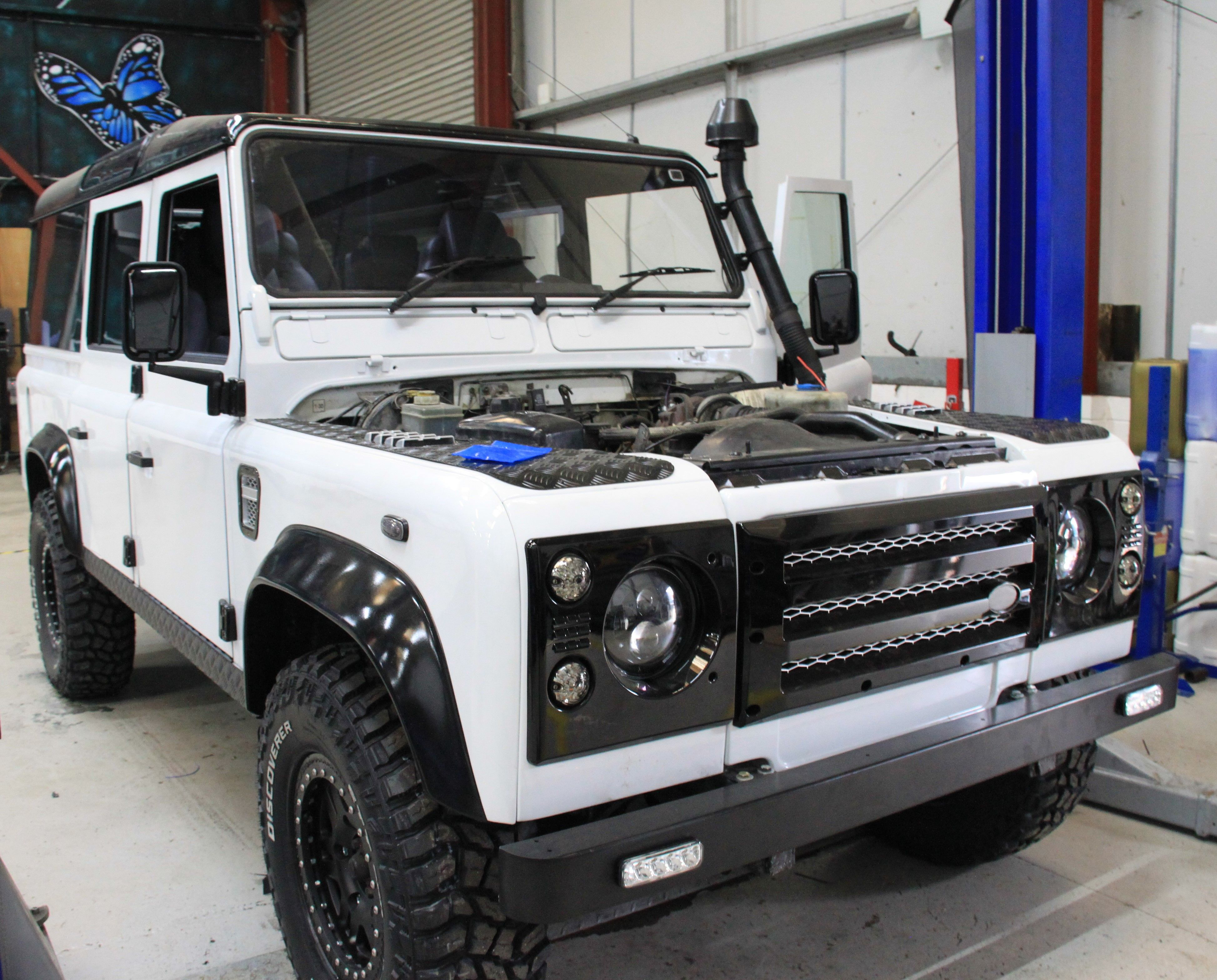 Range Rover Tuning Land Rover Styling Upgrade Packages Land Rover Defender Land Rover Defender