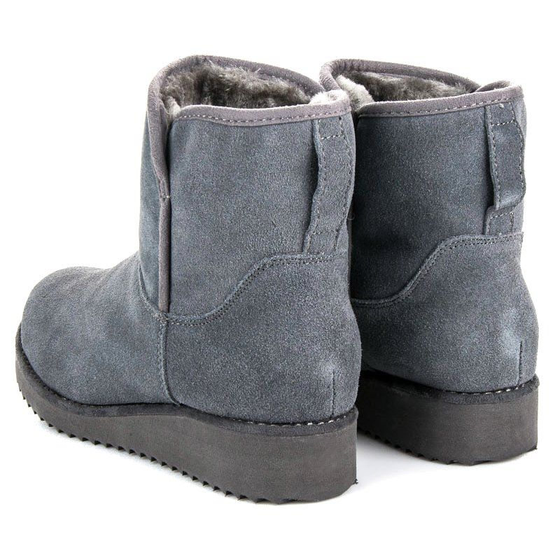Sniegowce Damskie Cocoperla Szare Mukluki Na Platformie Coco Perla Boots Ugg Boots Uggs