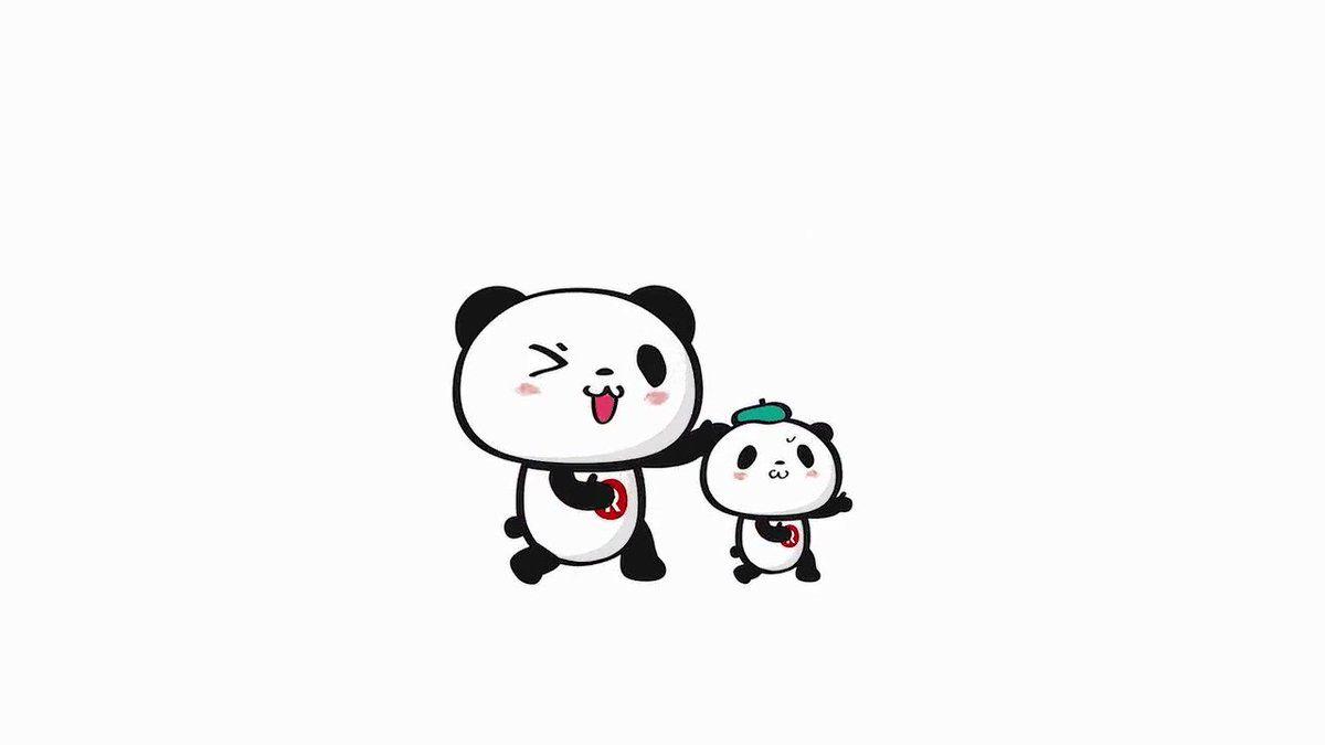 Buta お買いものパンダ 楽天パンダ Okaimono Panda さん Twitter 楽天パンダ パンダ アニメーションアート