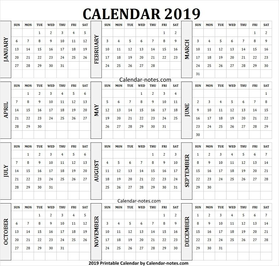 Calendar 2019 English And Arabic Calendar 2019 To Print