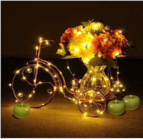 Decorative Indoor String Lights Endearing Kinglux Decorative Indoor Christmas Party String Lights Starry Review