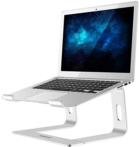 Amazon Com Nulaxy Laptop Stand Ergonomic Aluminum Laptop Computer Stand Detachable Laptop Riser Notebook Holder Laptop Stand Computer Stand Portable Laptop