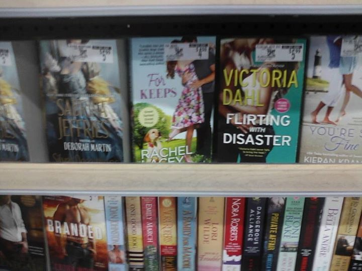 Thank you so much Leslie for this picture of For Keeps on the shelf at Walmart! <3