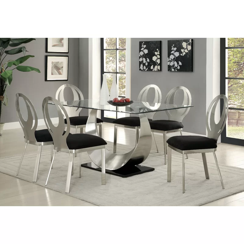 Atami Dining Table Metal Dining Table Dining Room Sets Modern Dining Room