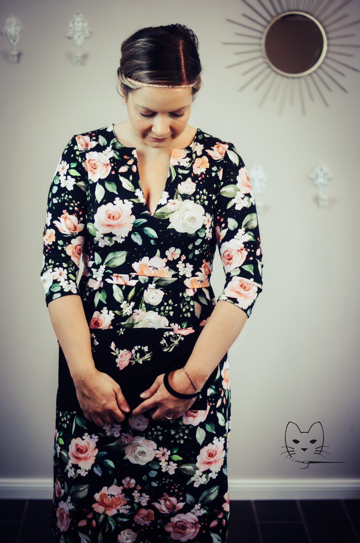 elisabeth | kleid nähen, blumige kleider, frühlingskleid
