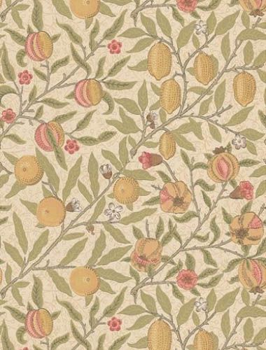 210395 Fruit (1864) | Morris & Co. | Archive | Lines of Pinner | Interiors…