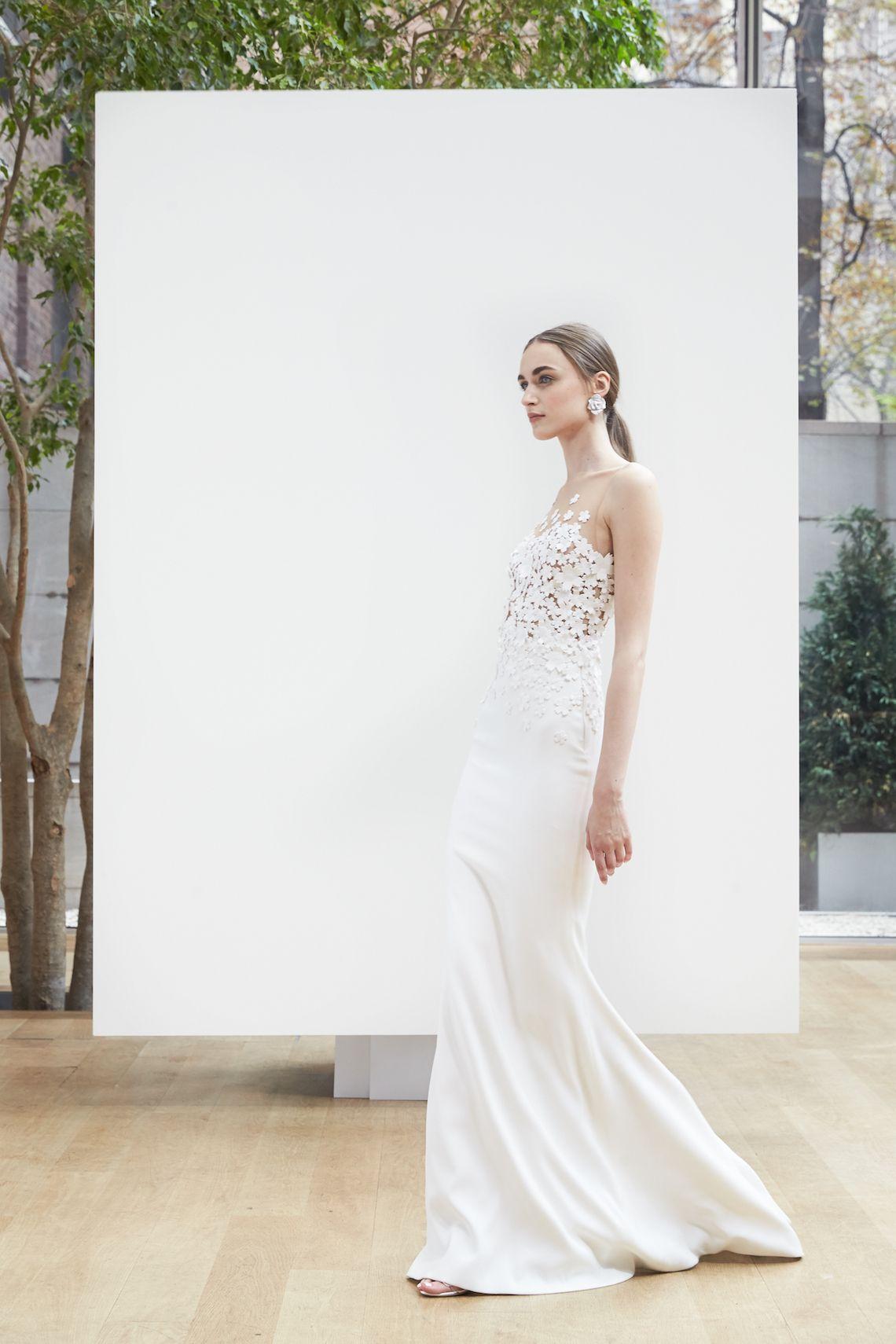 749c3591162 Best of Bridal Week  Oscar de la Renta Wedding Dress Collection 2018 ...