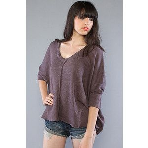 Free People Willow Breeze Top in Plum Size S/P
