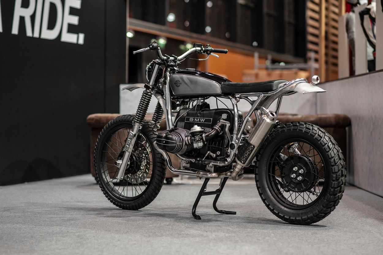BMW R80GS Enduro / Scrambler by Meister Engineering