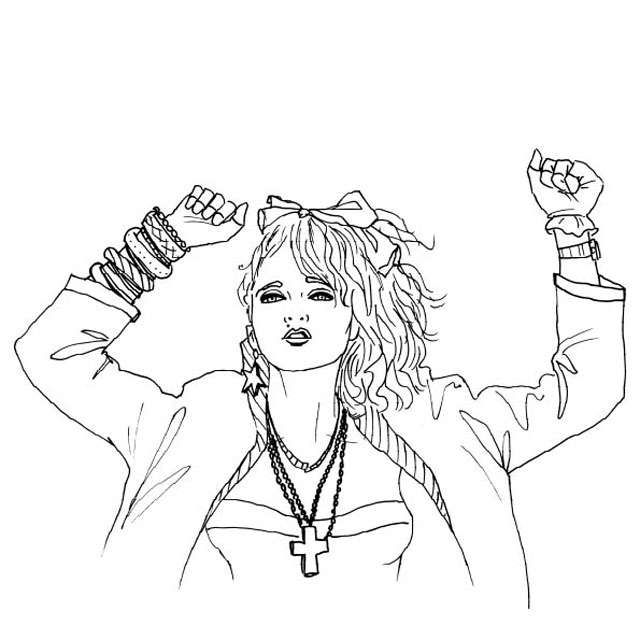 free 80s coloring pages | 80's+coloring+pages | How did I LOVE MEL begin? | Cartoon ...