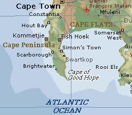 Kadri in South Africa Cape of Good Hope cape o colors