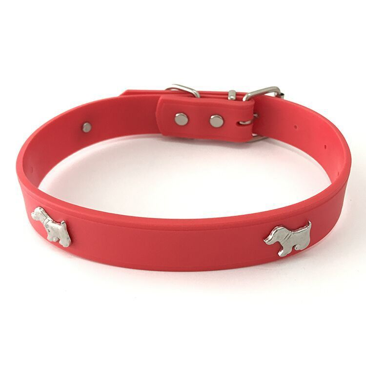 Online Shop Pet Products Dog Collar Cat Collar Pet Soft Rubber Collar 6 Colors Silicone Collar Multicolor Optional Comfort Dog Cat Collars Dog Collar Pet Dogs