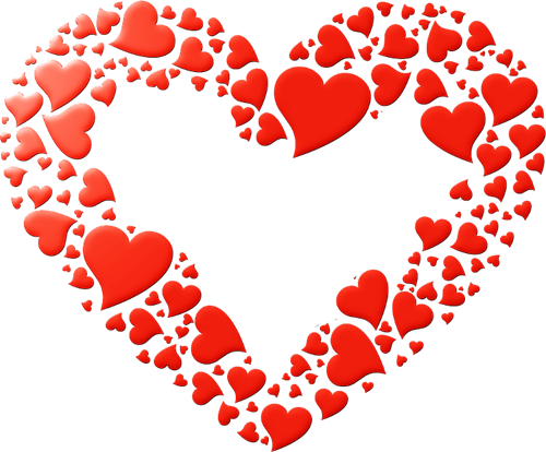 1 Heart Corazone Decoraciones San Valentin Png 8 Png 500 414 Dibujos De Corazones Plantilla De Copo De Nieve Manualidades