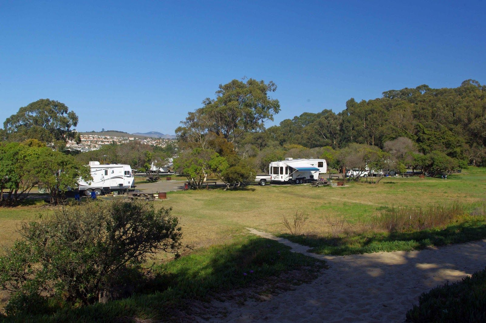 Rv Sites In California Beaches Usbackroads North Beach Campground Pismo