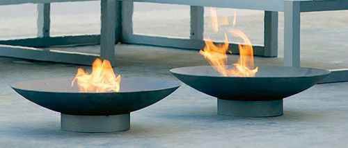 14 Fire Pits With Retro Modern Style In A Wide Range Of Prices Bowlsoutdoor