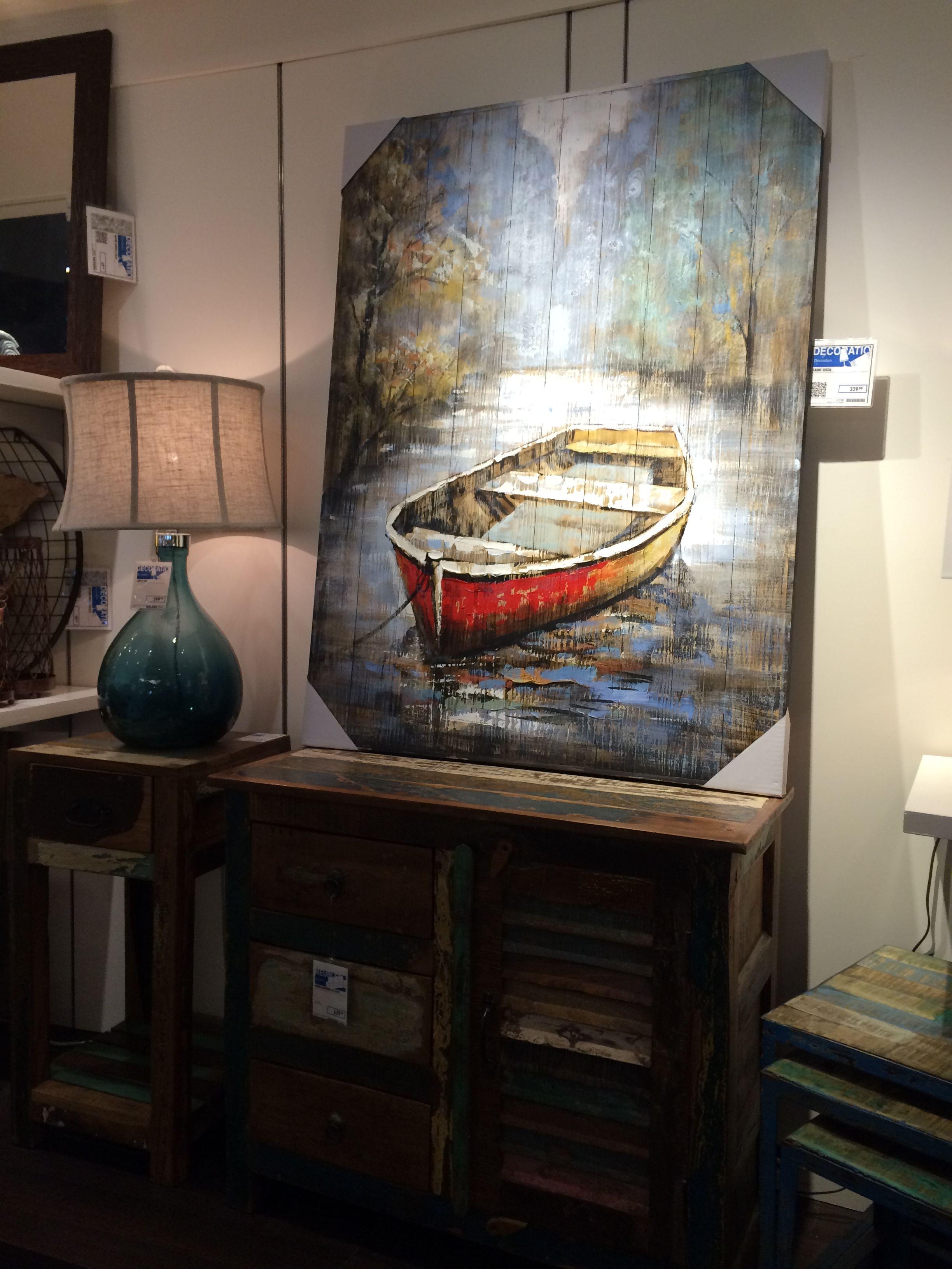Planche En Bois Deco peinture sur planche de bois | pallet painting, sailboat art