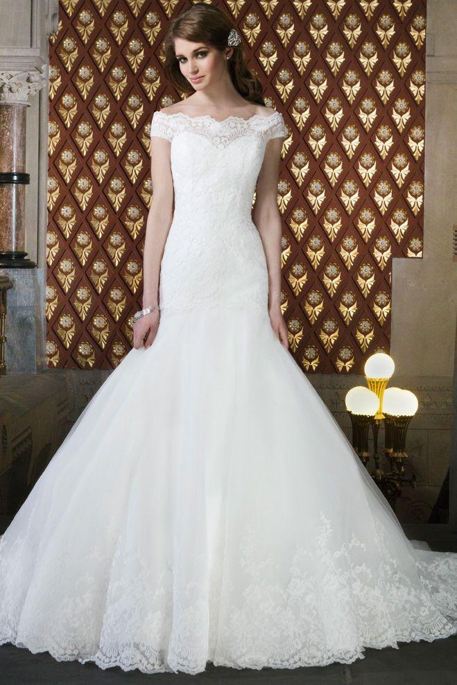 Justin Alexander Trumpet Wedding Dress Guides for Brides