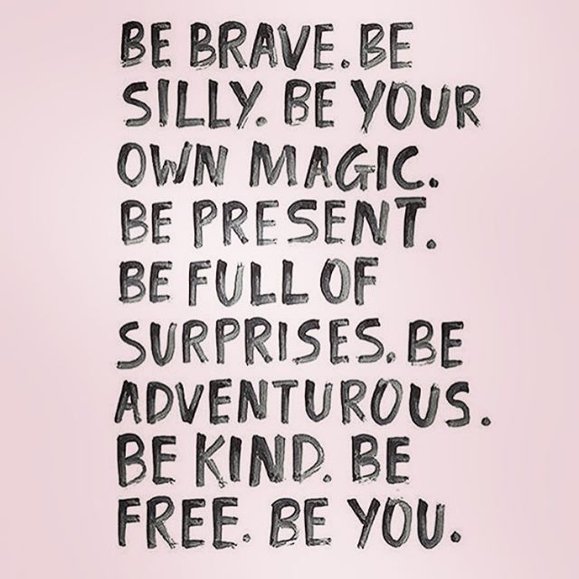 By being completely and authentically you, you put