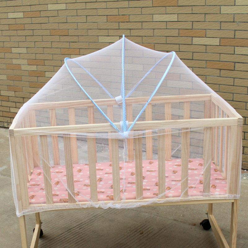 Click To Buy Baby Crib Mosquito Net Mesh Crib Tent Folding Net Bed For Babies Baby Cot Mosquito Net Baby Cradle Bedding Portable Baby Bed Cradle Bedding