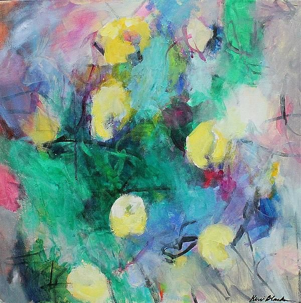 Yellow Roses  Kerri Blackman  http://www.ugallery.com/acrylic-painting-yellow-roses #painting #artwork #home decorationg #interior decorating