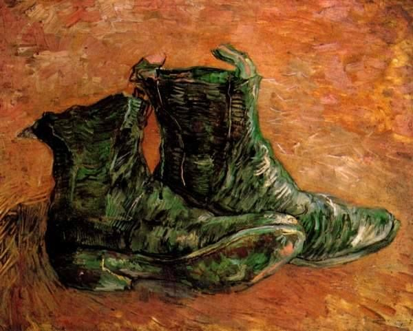 Pair of Shoes, 1886